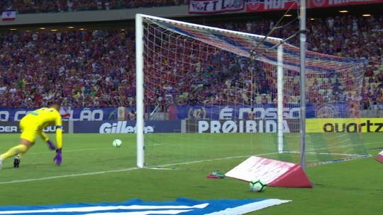 Análise: derrota do Fortaleza para o Inter dói mais por 1º tempo superior em estreia de Zé Ricardo