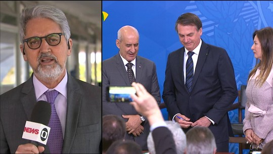 Bolsonaro empossa Luiz Eduardo Ramos como ministro da Secretaria de Governo
