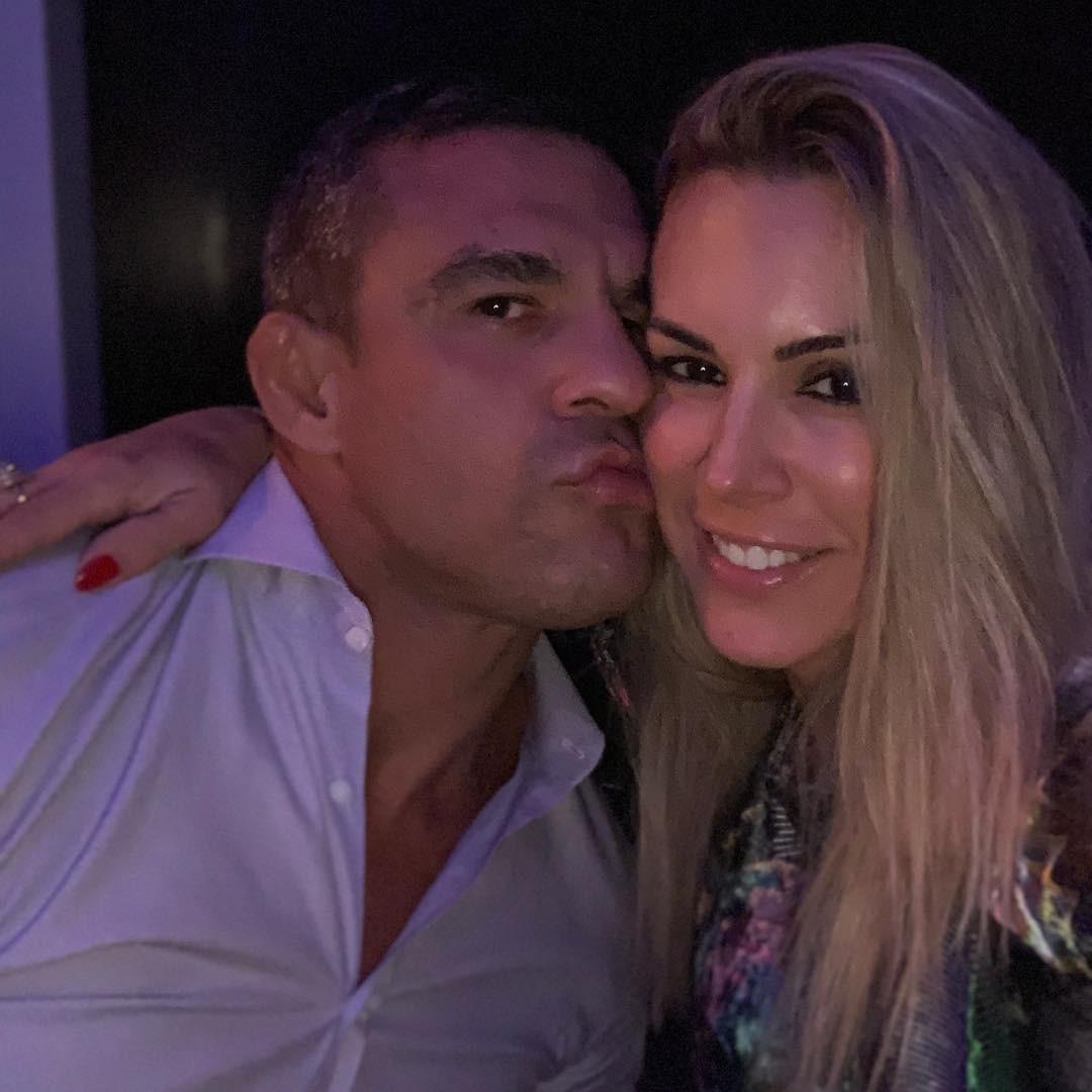 Victor Belfort e Joana Prado (Foto: Reprodução Instagram)