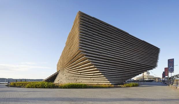 Conheça o interior do museu desenhado por Kengo Kuma na Escócia (Foto: Divulgação )
