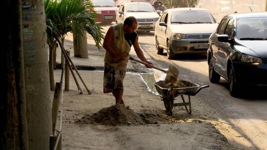 Moradores da Muzema reclamam da demora na recuperação de áreas atingidas