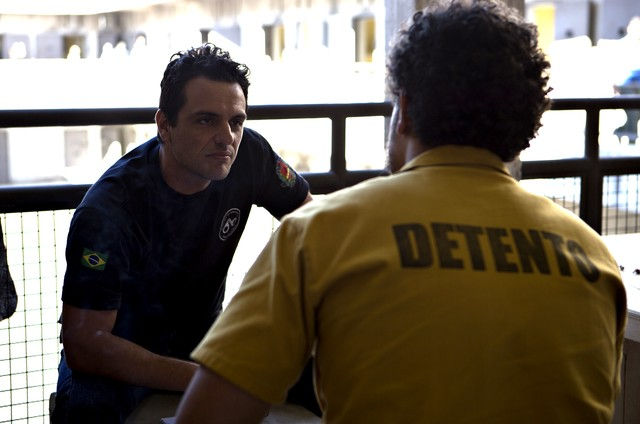 Rodrigo Lombardi em 'Carcereiros' (Foto: Divulgação/TV Globo)