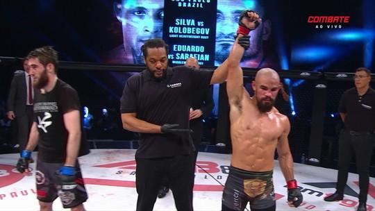 Em luta espetacular, Matheus Mattos vence Naskho Galaev na decisão dos juízes no ACB 82