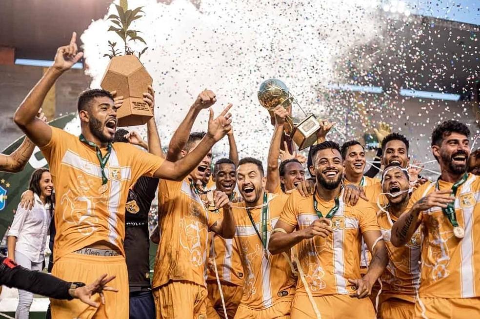 Brasiliense é o atual campeão da Copa Verde — Foto: Talita Gouvêa/Metrópoles