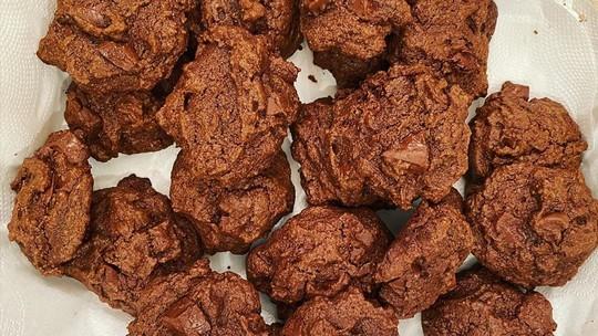 Cookie de Chocolate Fit da Sandy