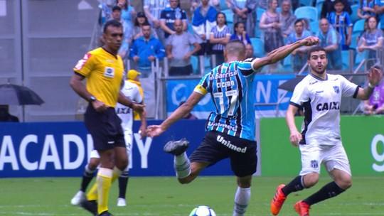 Grêmio x Ceará - Campeonato Brasileiro 2018 - globoesporte.com