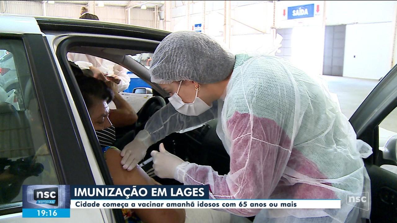 Lages tem sábado de vacinação contra Covid