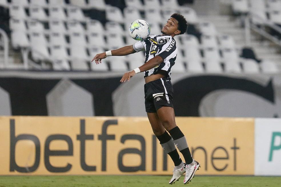 Warley foi o melhor em campo em Botafogo x São Paulo — Foto: Vitor Silva/Botafogo