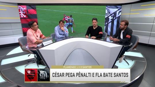 """Para Roger, César foi """"dono do jogo"""" em vitória do Flamengo; Petkovic vê goleiro digno de confiança"""