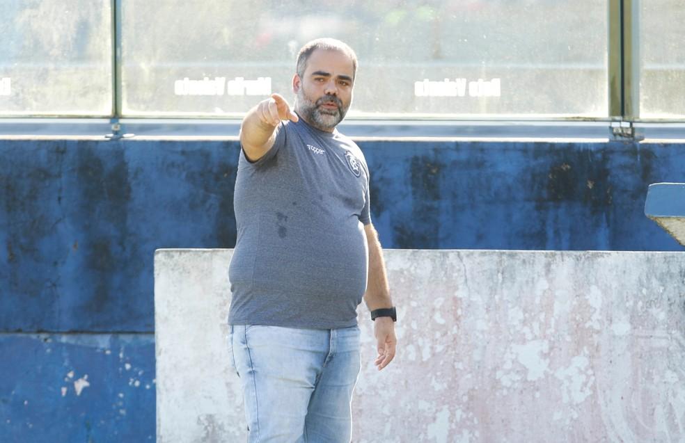 Presidente do Remo está organizando o planejamento para a próxima temporada — Foto: Oswaldo Forte/O Liberal
