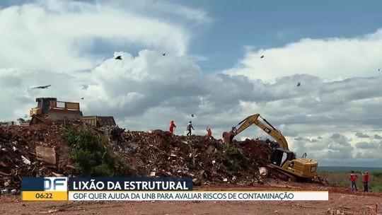 Pesquisadores da UNB vão avaliar os riscos de contaminação no antigo lixão da Estrutural