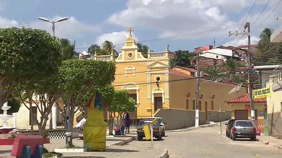 Pilõezinhos, no Brejo da Paraíba — Foto: Reprodução/TV Paraíba