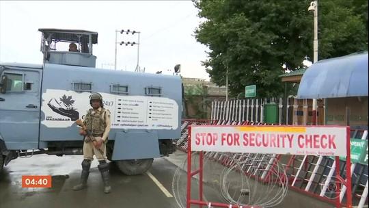 Governo reabre escolas e escritórios públicos na Caxemira