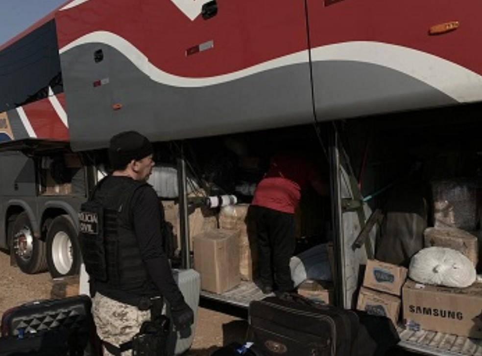 Polícia desarticula esquema de tráfico interestadual de drogas em Conceição do Araguaia, no Pará.  — Foto: Reprodução / Polícia Civil