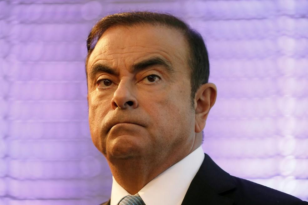 Carlos Ghosn — Foto: Charles Platiau/Reuters