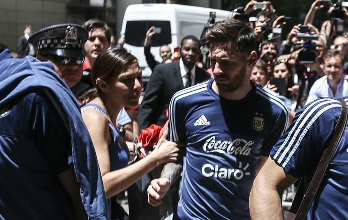Messi torcedora Argentina (Foto: EFE)