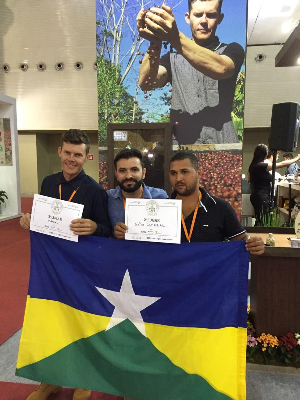 Concurso reuniu os melhores cafés do Brasil (Foto: Janderson Dalazen/Arquivo pessoal)
