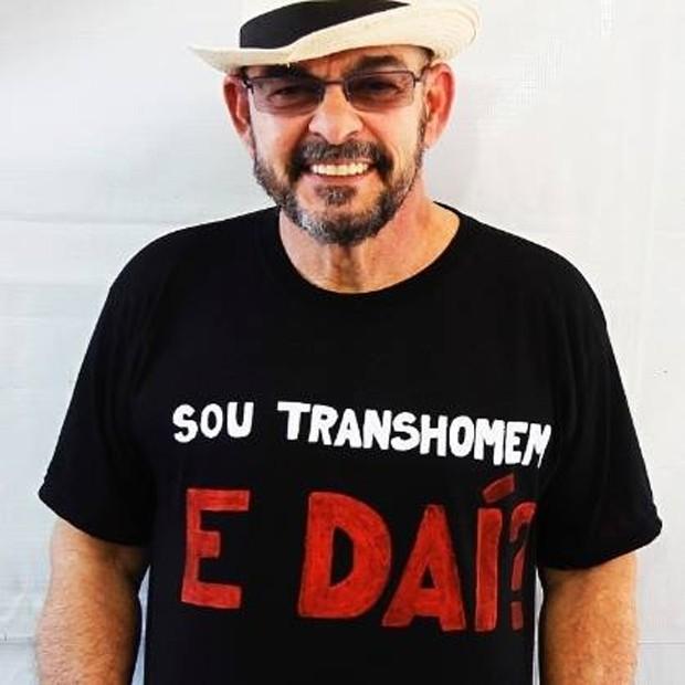 João W. Nery (Foto: Reprodução/Facebook)