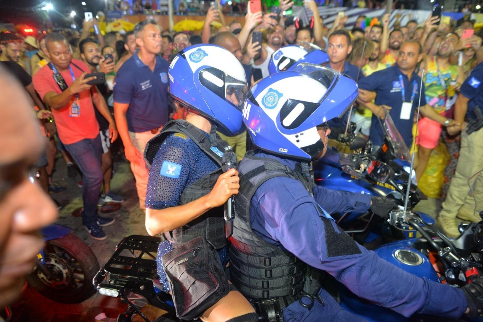 Primeiro dia de carnaval de Salvador 2020 - circuito Barra/Ondina — Foto: Joilson César/Ag Haack
