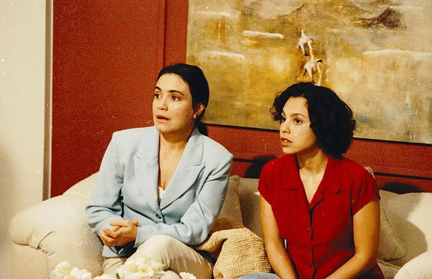 A primeira de três Helenas de Regina Duarte: em 'História de amor', de 1995, ela dividia a cena com Carla Marins (Foto: Bazilio Calazans)