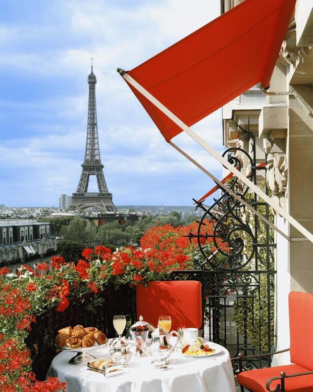 Vista da Torre Eiffel (Foto: divulgação)