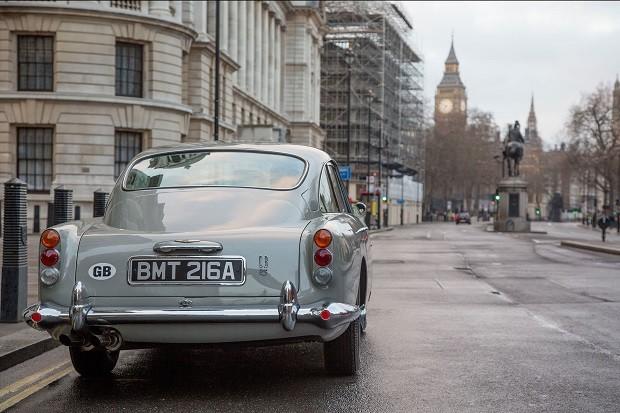 Aston Martin recria carro de James Bond (Foto: Divulgação)