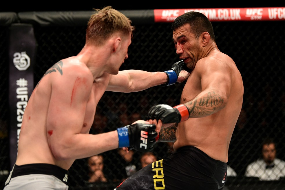 Volkov x Werdum UFC Londres (Foto: Brandon Magnus/Zuffa LLC / Getty Images)