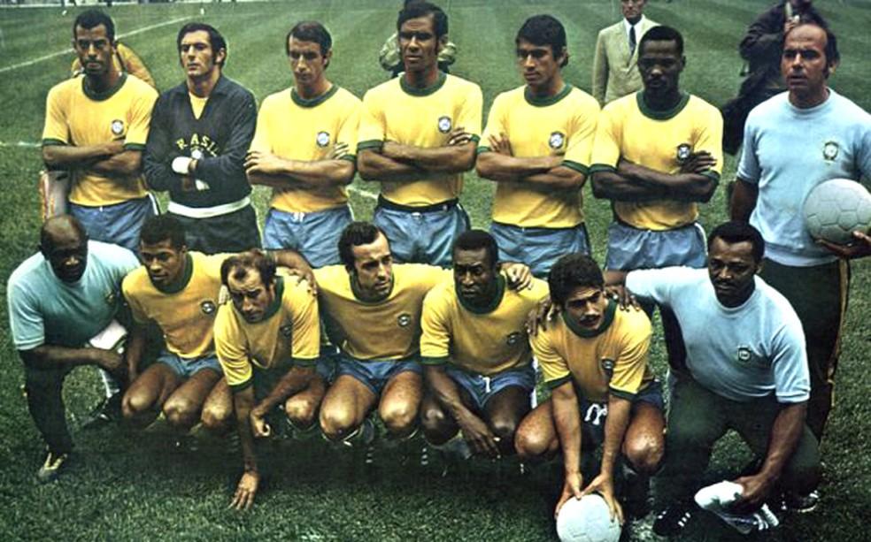 Seleção de 1970 — Foto: CBF