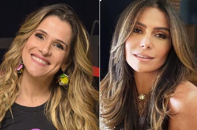 Ingrid Guimarães e Giovanna Antonelli (Foto: Divulgação e Instagram)