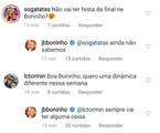 Boninho responde internauta no Instagram | Reprodução