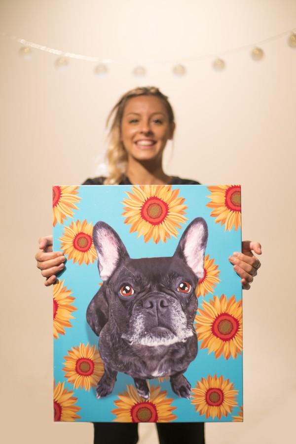 Gabriela Rossato é criadora do Seu Pet Art (Foto: Reprodução)