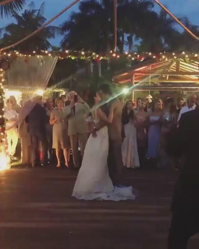 Casamento Isis Valverde e André Resende (Foto: Reprodução/Instagram)