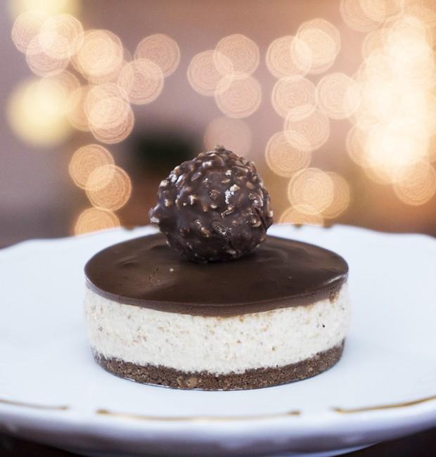cheesecake-ferrero-rocher (Foto: Divulgação)