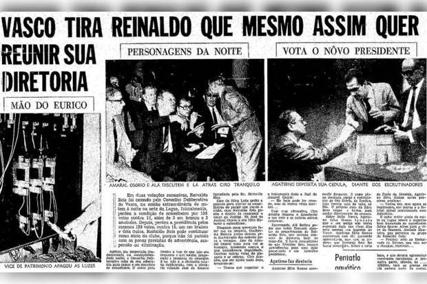 """""""A Mão de Eurico"""", destacada em reportagem d'O Globo (Foto: reprodução)"""