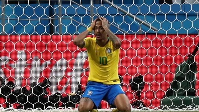 Neymar, atuação apagada em Brasil 1 x 2 Bélgica