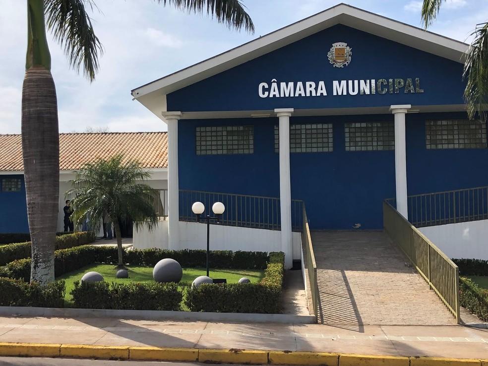 Câmara Municipal de Taciba — Foto: Mateus Tarifa/TV Fronteira