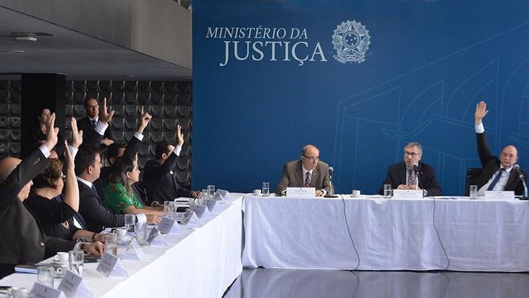 Ministro Osmar Terra comanda votação no Conselho Nacional de Políticas sobre Drogas (Foto: Divulgação)