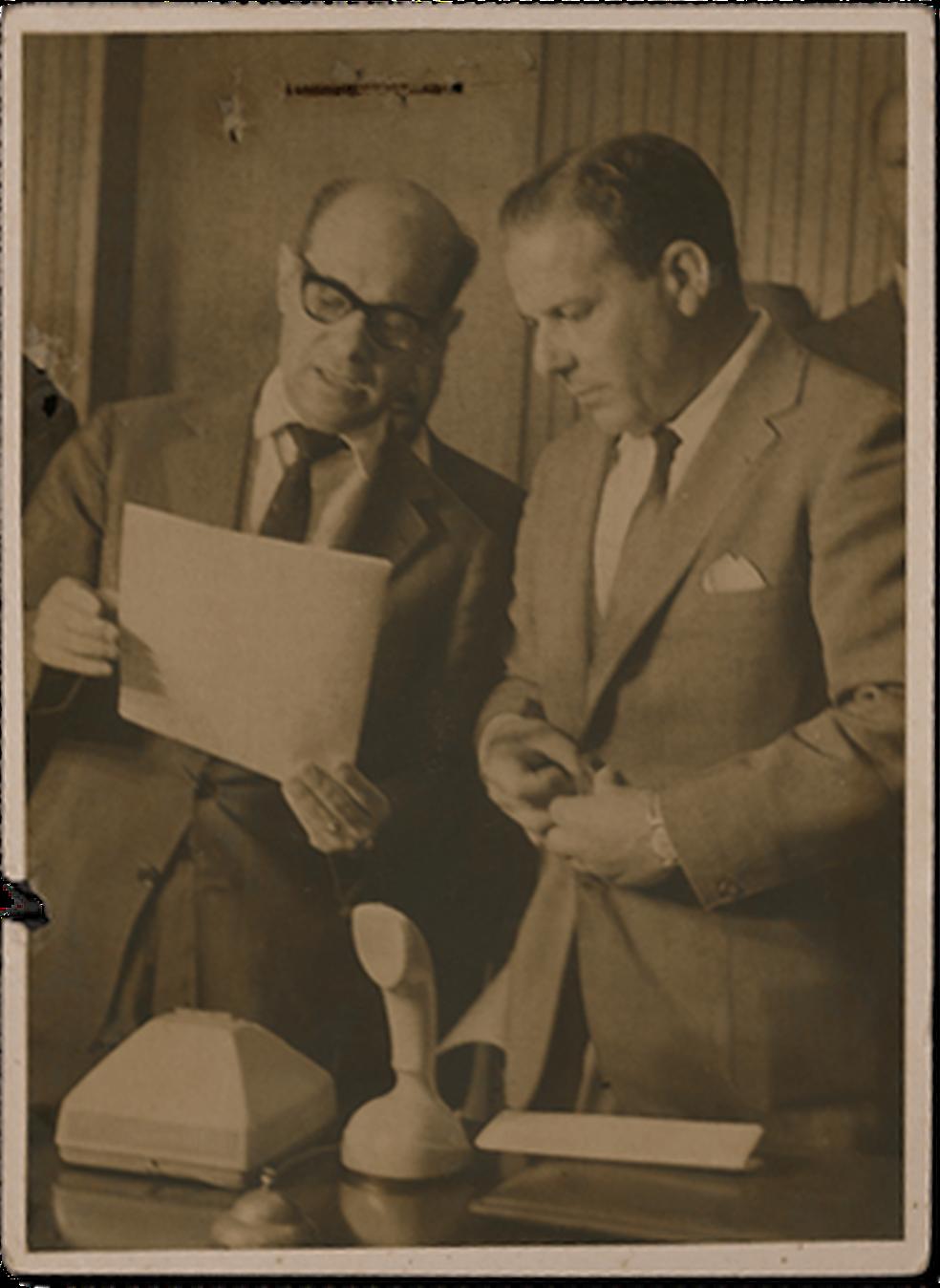 Tancredo Neves e Jango — Foto: Arquivo/Estadão Conteúdo