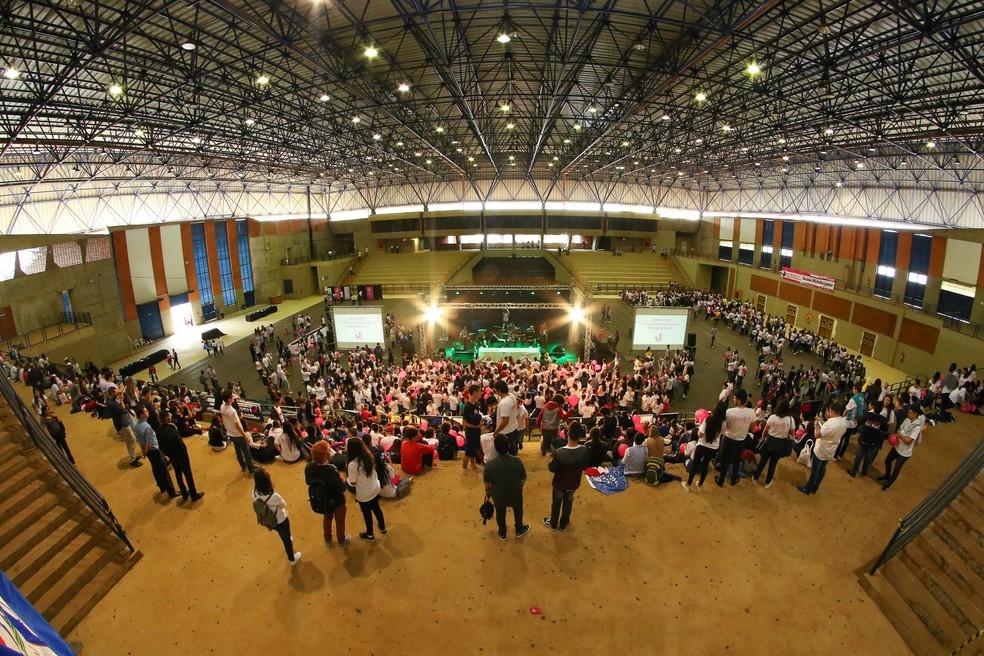 Olimpíada de História na Unicamp (Foto: Pedro Amatuzzi/Divulgação ONHB)