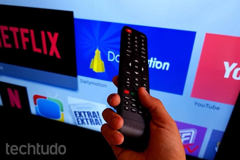 ba4b3691d816e ... Como conectar a sua smart TV da Philco à Internet — Foto  Fernando  Telles
