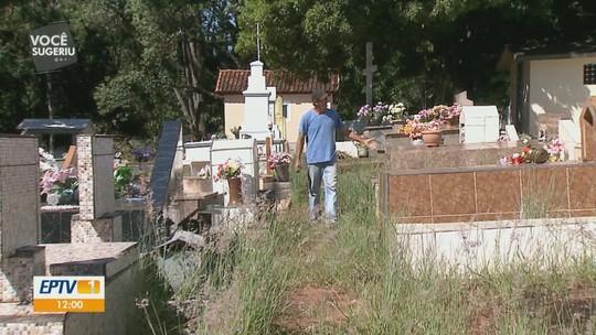 Cemitério abandonado e sem funcionários causa transtornos aos moradores de Ribeirão Bonito