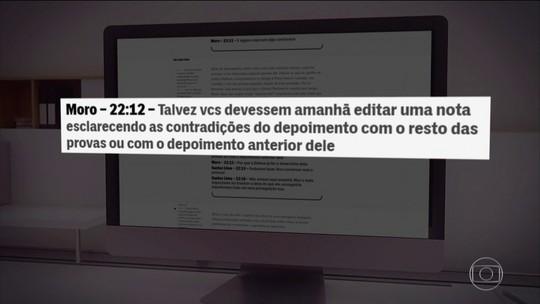 Reveladas novas mensagens atribuídas ao então juiz Sérgio Moro e procuradores da Lava Jato
