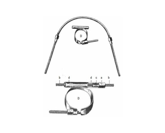 Edward Hartley Angle lançou o seu primeiro aparelho ortodôntico, o Arco E (Foto: Reprodução)