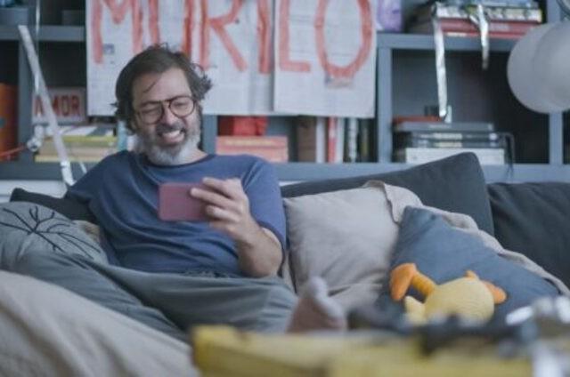 Bruno Mazzeo em 'Diário de um confinado' (Foto: Divulgação/Globo)