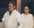 Eudoro (José Domunt) e Dolores (Daphne Bozaski) | TV Globo