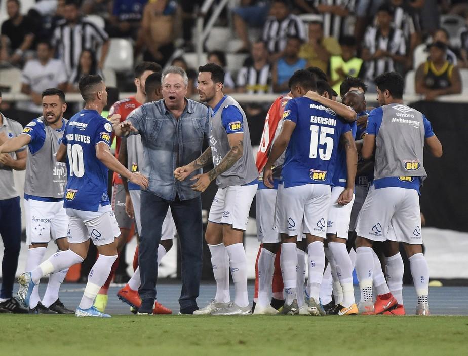 Abel Cita Pior Jogo Do Cruzeiro Em Serie Invicta E Projeta Cinco Vitorias Para Escapar De Vez Da Queda Cruzeiro Ge