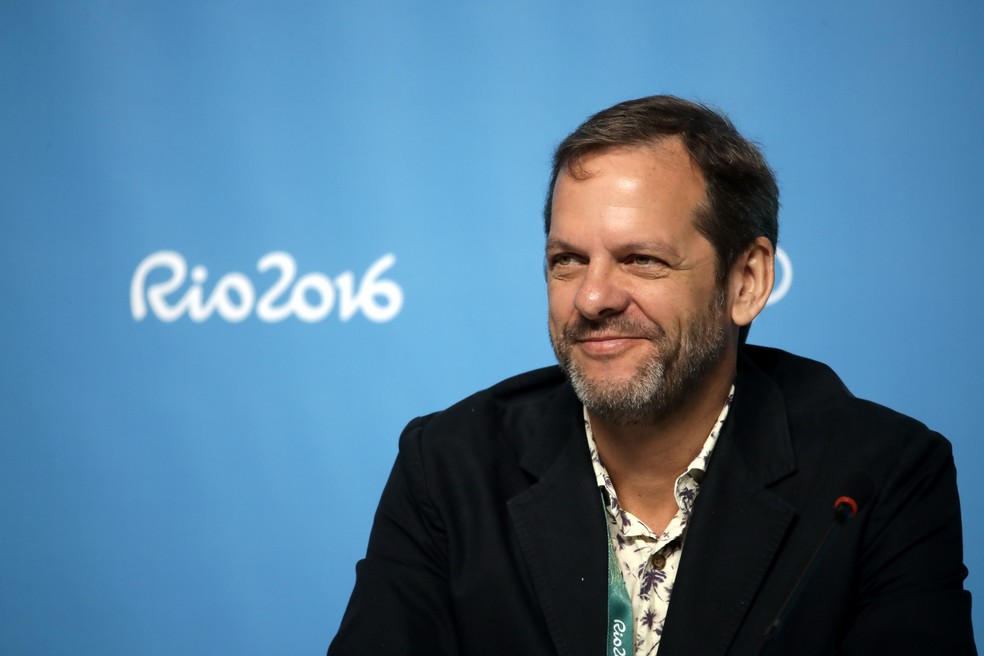 Marco Balich é o produtor executivo da cerimônia após duas mudanças na liderança depois do adiamento dos Jogos — Foto: Chris Graythen/Getty Images