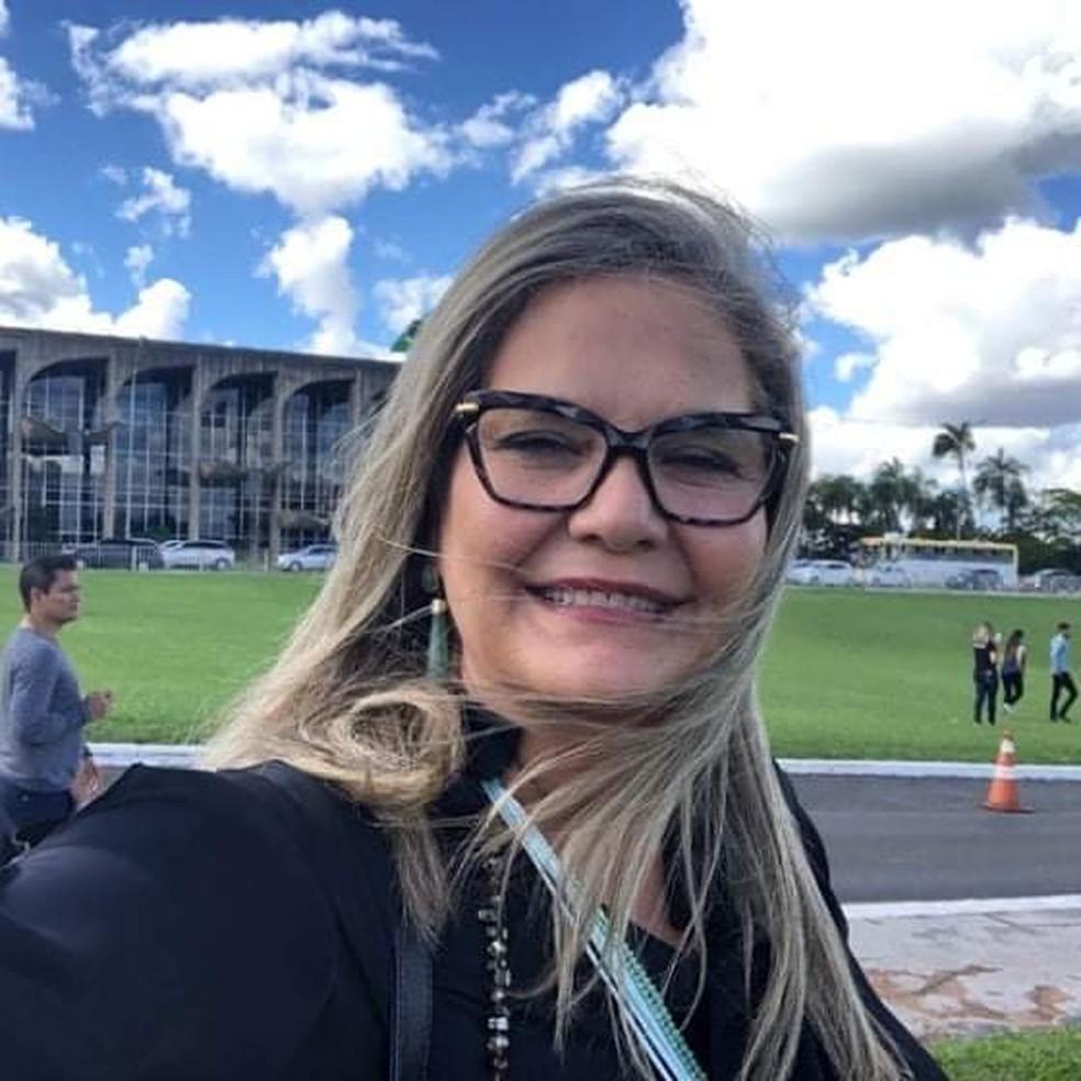 Jornalista Márcia Caetano morreu nesta quinta-feira (13) — Foto: Sindjor-MS/Reprodução