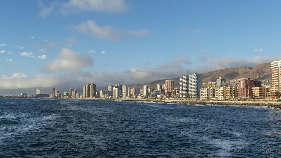 Cidade litorânea chilena de Antofagasta foi fundada pela Bolívia (Foto: Getty Images)