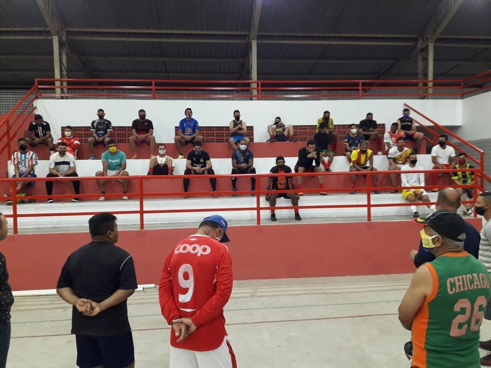 Apresentação aconteceu no Ginásio Adauto Silva — Foto: Divulgação